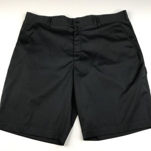 Nike Golf Dri Fit Dri Black Bermuda Hiking Shorts